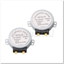4 W 3 tr//min 120 V four micro-ondes Plateau tournant moteur Pack de 2 4.9x2.5cm