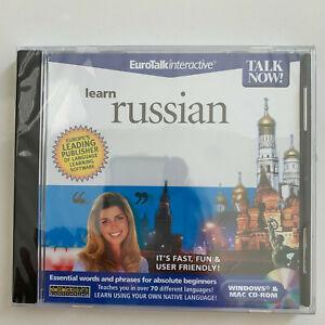 Talk Now! Learn Russian - PC/MAC *** BRAND NEW ***