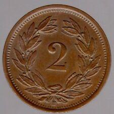 2 Rappen 1919 B in unzirkuliert