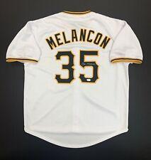 Mark Melancon Signed Pittsburgh Pirates Jersey Jsa Witness