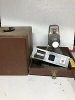 Vintage TDC VIVID Slide Projector Model D 35mm With Selectron Semimatic + Case