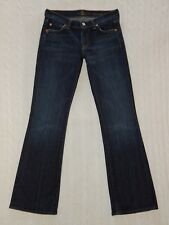 7 SEVEN FOR ALL MANKIND – Size 24 x 29 (Short) – BOOTCUT Denim Jeans – #W913