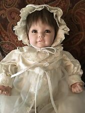 "Adora Baby Doll 20"" Vinyl Weighted Brown Hair & Brown Eyes  By Frank Young"