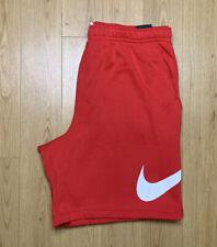 Nike Sportswear Club Graphic Red White Shorts Men's Size 3XL-TALL BV2721-658 NWT