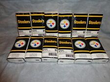 PITTSBURGH STEELERS PERSONAL TISSUE PACK SET OF 12 PACKS 15 2-PLY TISSUE PER PAC