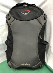 Osprey Meridian - Daypack Only - Black/Gray Carry On *Pre-Owned* Backpack Bag