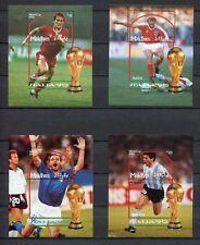 s6413) MALDIVES ISL. 1990 MNH** WC Football- CM Calcio BF x4