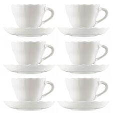 6 Hutschenreuther Maria Theresia Cappuccino- Kaffee-Tassen und Untertassen 340ml