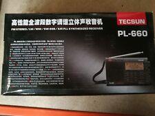 Tecsun Radio PL 660(FM Stereo/LW/MW/SW-SSB Receiver) NEU mit OVP