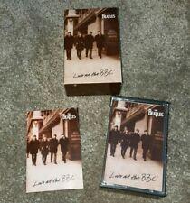The Beatles: 'Live At The BBC' (1994) 2 x Audio Cassette Tape UK Original - EXC!