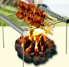Portable Stainless Steel Grill Folding Bbq Grill Tool Bbq Outdoor Accessories