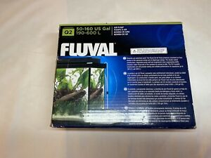 New! Fluval Q2 AIR PUMP 50-160 US Gal 190-600L A852