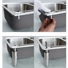 Home Kitchen&Bathroom Sink Plastic Liquid Soap Dispenser Pump Bottle AR1