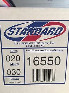 Engine Crankshaft Standard Crankshaft 16550 Rods 020 / Mains 030  (302)