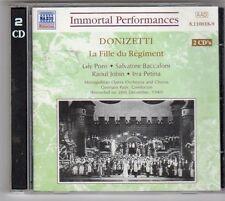 (ES767) Donizetti: Fille Du Regiment (La) , 2 Disc - 1997 CD