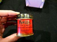 Kee Lox Addressograph typewriter ribbon red can advertising vintage ephemera