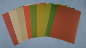 """Anna Griffin Christmas Solid Color Vellum Sheets 5"""" x 7"""" - Set of 9"""