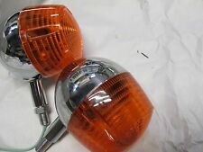 NOS Suzuki T500 T250 T350 T305 nos front  turn signal set 1968-1975