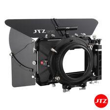 """【AU】JTZ DP30 4x5.65"""" Matte Box 15mm/19mm Carbon Fiber For FilmSony RED Canon"""