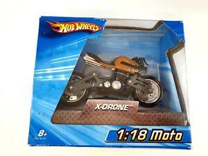 Hot Wheels X-Drone Motorbike 1:18 MOTO DIECAST
