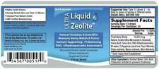 1pak zeolite liquid colon liver cleanse detox flush herb herbal fat weight loss