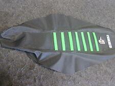 Kawasaki KXF450 16-17 Profitez De Noir/vert housse siège pince nervurée EJ3037