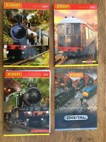 4 x A4 HORNBY Model Railway colour catalogues 2009 2011 2012 & DCC Brochure
