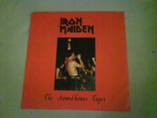 nwobhm IRON MAIDEN The Soundhouse Tapes EX 1980 BLUE VINYL 1st (?) REISSUE