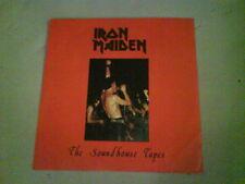 nwobhm IRON MAIDEN The Soundhouse Tapes EX/NRM 1980 BLUE VINYL 1st (?) REISSUE