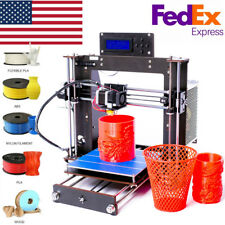 2019 3D DIY Kit Upgraded Full Quality High MK8 Precision Reprap Prusa i3 Printer