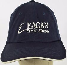 Navy Blue Eagan Civic Arena embroidered baseball hat cap adjustable