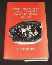 Jewish Russian Revolutionaries Exiled to Siberia 1901-1917 Yiddish Text English