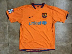 Barcelona Away football shirt 2006-2008 Sz.L