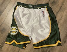 Seattle Supersonics Sonics Reebok Authentic Basketball Shorts 40 Medium NBA