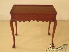 29459E: HENKEL HARRIS Queen Anne Cherry Tea Table