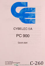 Cybelec SA PC900, Quick Start, Press, Reference Facts & Instructions Manual