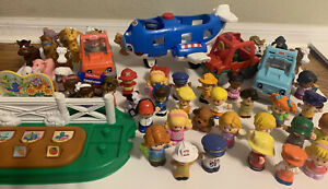 Fisher Price Little People Lot Figures Vehicles Accessorries