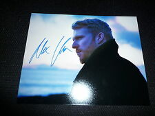 Alex Clare signed autógrafo 20x25 cm en persona Too Close