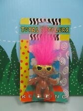 "TROLL KEY CHAIN  - 3"" TOTALLY TROLLERS STREET KIDS - NEW STORE STOCK - Rare"