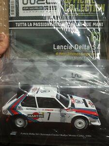 LANCIA DELTA S4  RALLY MONTECARLO 86 TOIVONEN WRC COLLECTION N.19 SCALA 1:24