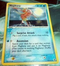 Pokemon Magikarp - 67/112 - Uncommon FireRed & LeafGreen ERROR EX-NM