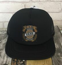 VANS ORIGINAL OFF THE WALL - BARLEY TRUCKER CAP / BASEBALL CAP / HAT BNWT