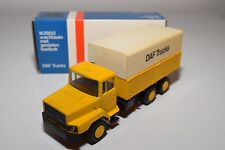 ± LION CAR DAF N2800 N 2800 TRUCK YELLOW PROMO DAF TRUCKS NEAR MINT BOXED