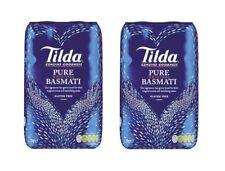 Doppelpack: 2 x 2kg Tilda Original Basmatireis Reis Basmati Duft Himalaya
