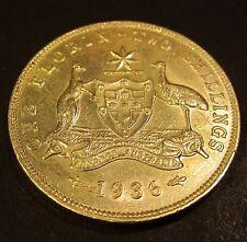 1936 Australia 2/- Two Shillings One Florin #936-F-1 =HIGH GRADE=
