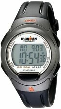Timex T5K607, Men's 10-Lap Ironman Indiglo Watch, Alarm, Chronograph,Countdown
