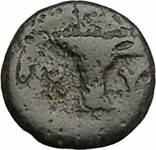 Kyme in Aeolis 350BC EAGLE & VASE on Authentic Ancient Greek Coin i48077