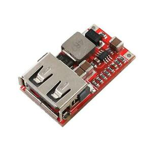 DC-DC Step Down Converter 6-24V to 5V 3A CAR USB Charger Module Power Supply