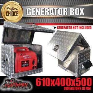 Ventilated Generator Tool Box Aluminium High quality. caravan truck utes Toolbox