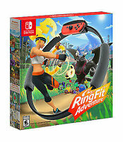 Nintendo Switch RingFit Adventure Ring-Con & Leg Strap ONLY (NO GAME)